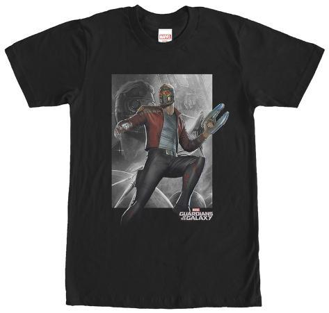 Guardians Of The Galaxy- Starlord Model Pose T-Shirt