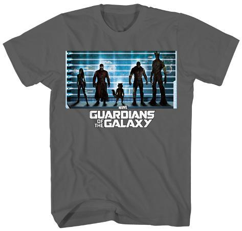 Guardians of the Galaxy - The Line Up Camiseta