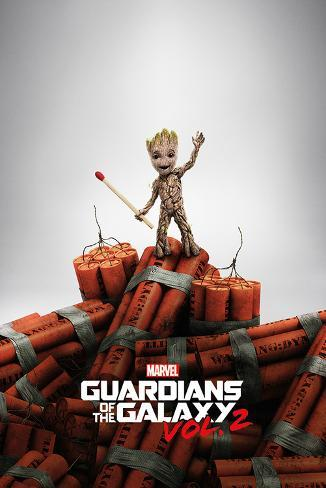 Guardians Of The Galaxy Vol.2 - Groot Dynamite Poster
