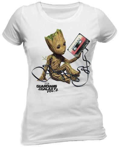 Guardians of the Galaxy Vol. 2 - Groot & Tape T-shirt da donna