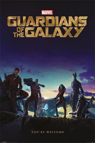 Guardians Of The Galaxy - You're Welcome Poster