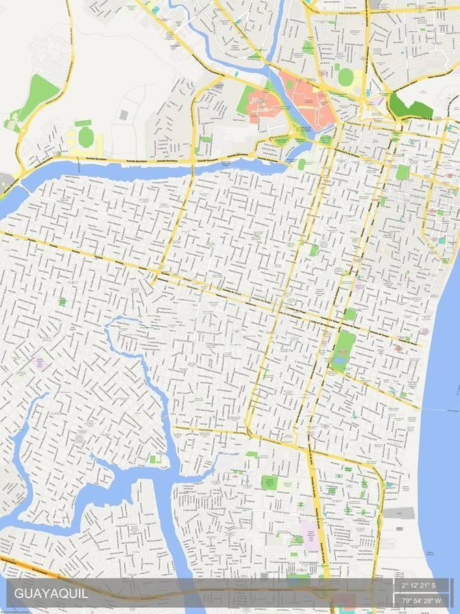 Guayaquil ecuador map psters en allposters gumiabroncs Images