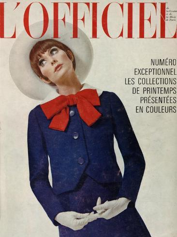 L'Officiel, March 1966 Taidevedos