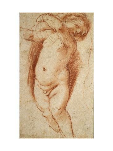 A Putto, 1620 - 1624 Lámina giclée
