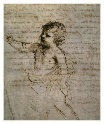 Sketch of a Child Lámina