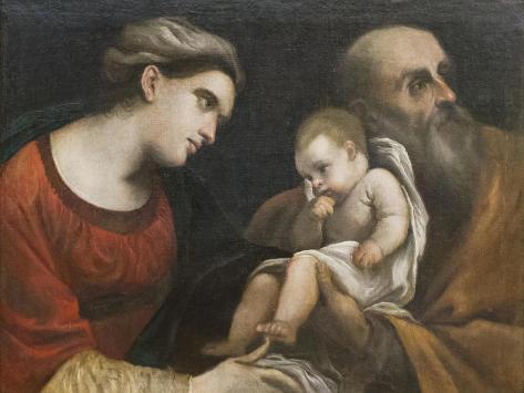 The Holy Family, 1615-16 Lámina giclée