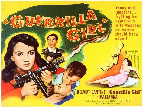 Guerrilla Girl, 1953 Art Print
