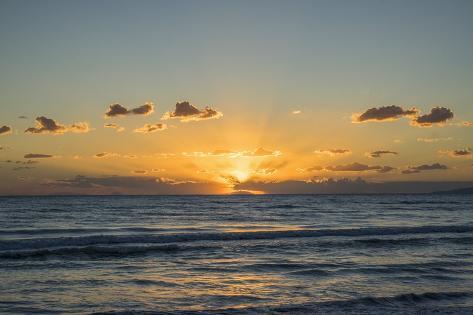 Ansedonia, Sea View Photographic Print