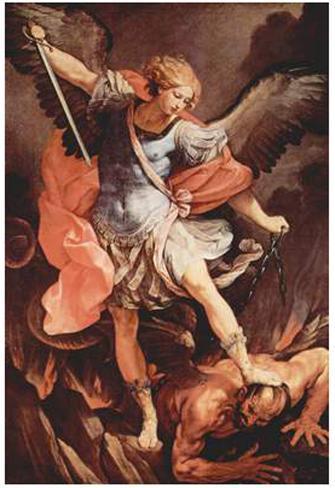 Guido Reni (Archangel Michael) Art Poster Print Poster