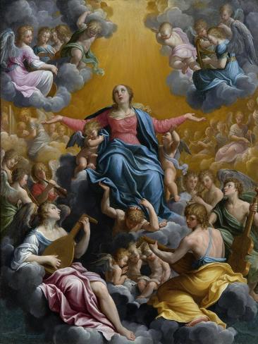 The Assumption of the Virgin. Ca. 1596 - 97 Lámina giclée