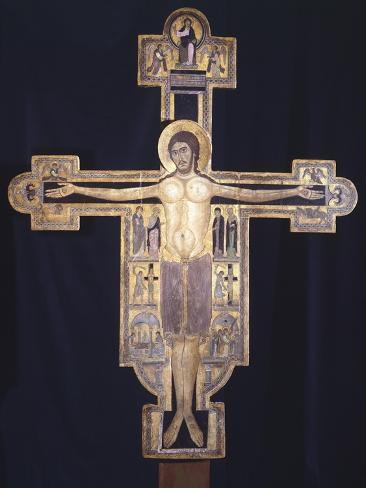 Guinigi Crucifix Giclee Print