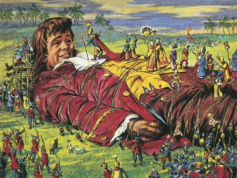 Gulliver's Travels Giclee Print