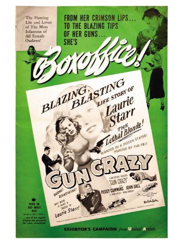 Gun Crazy, 1949 Art Print