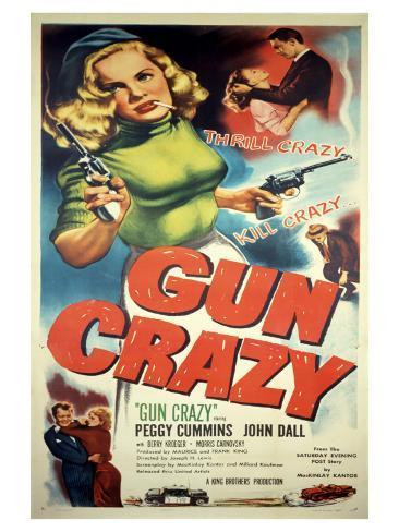Gun Crazy, 1949 アートプリント