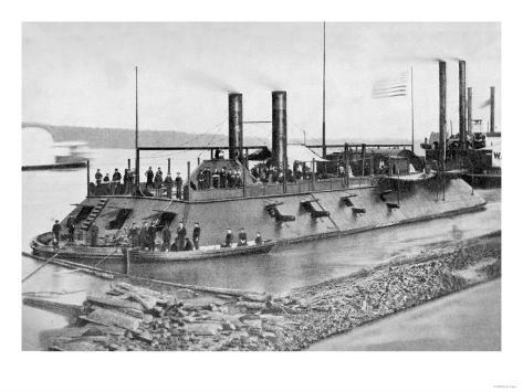 Gunboat, The Cairo Art Print