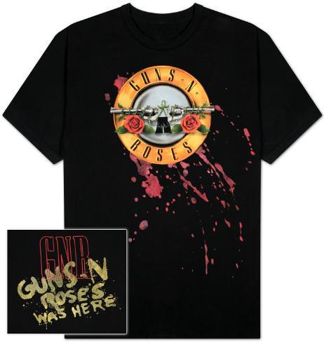 Guns N Roses - Bleeding logo T-Shirt