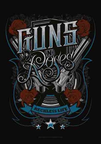 Guns N' Roses - Recklesslife Fabric Poster