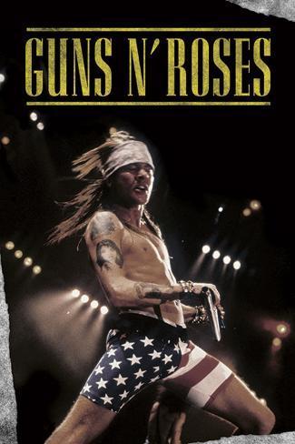 Guns N Roses (Shorts)  Poster