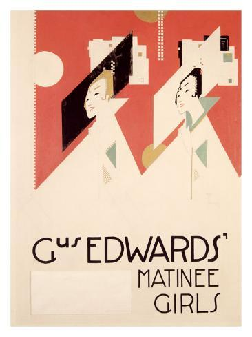Gus Edwards' Matinee Girls Giclee Print