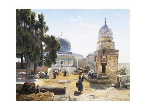 The Dome of the Rock, Jerusalem, Israel Giclee Print