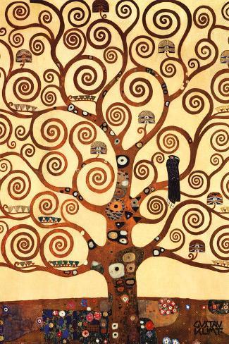 A Árvore da Vida Impressão artística