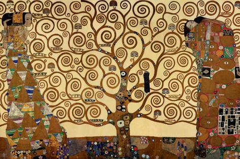 A Árvore da Vida Impressão em tela esticada