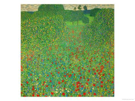 A Field of Poppies, 1907 Giclee Print
