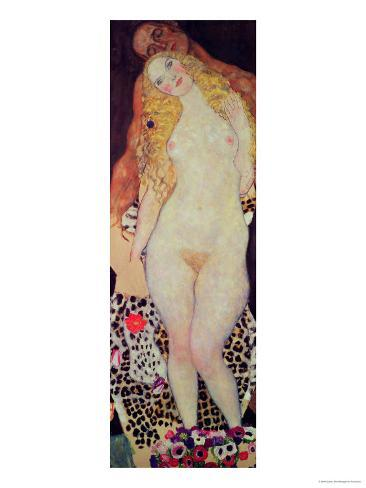 Adam and Eve, 1917-18 Giclee Print