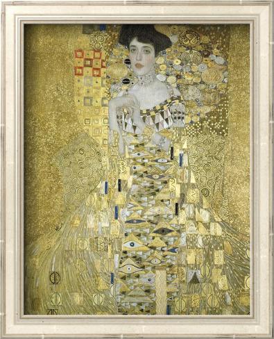 Adele Block Bauer Arte con textura enmarcado