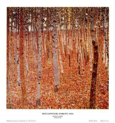 Beechwood Forest, 1903 Art Print