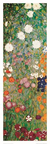 Blomträdgård, detalj Konstprint