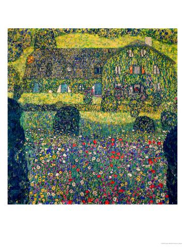 Country House on Attersee Lake, Upper Austria, 1914 Giclee Print