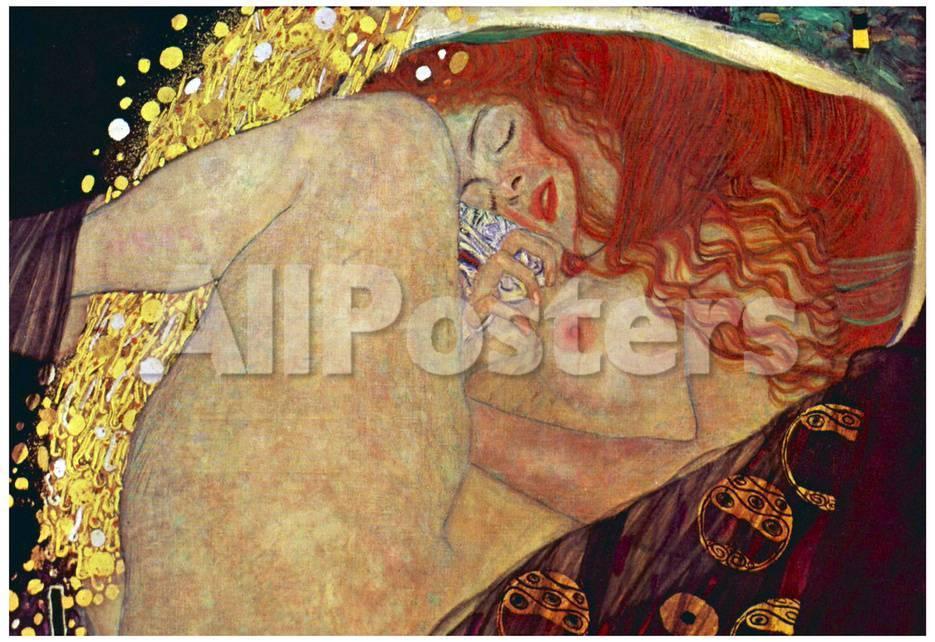 Gustav Klimt (Danae) Art Poster Print Láminas en AllPosters.es