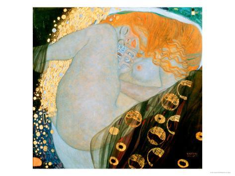Danae, c.1907 Giclee Print