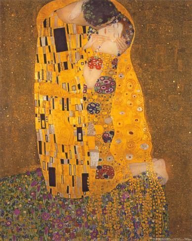 De Kus, ca.1907 Kunstdruk