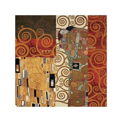 Deco Collage Detail (from Fulfillment, Stoclet Frieze) Lámina giclée