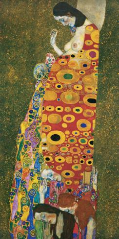 Die Hoffnung II Stretched Canvas Print