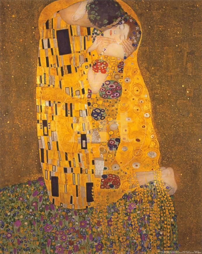 El beso, c.1907 Arte por Gustav Klimt en AllPosters.es