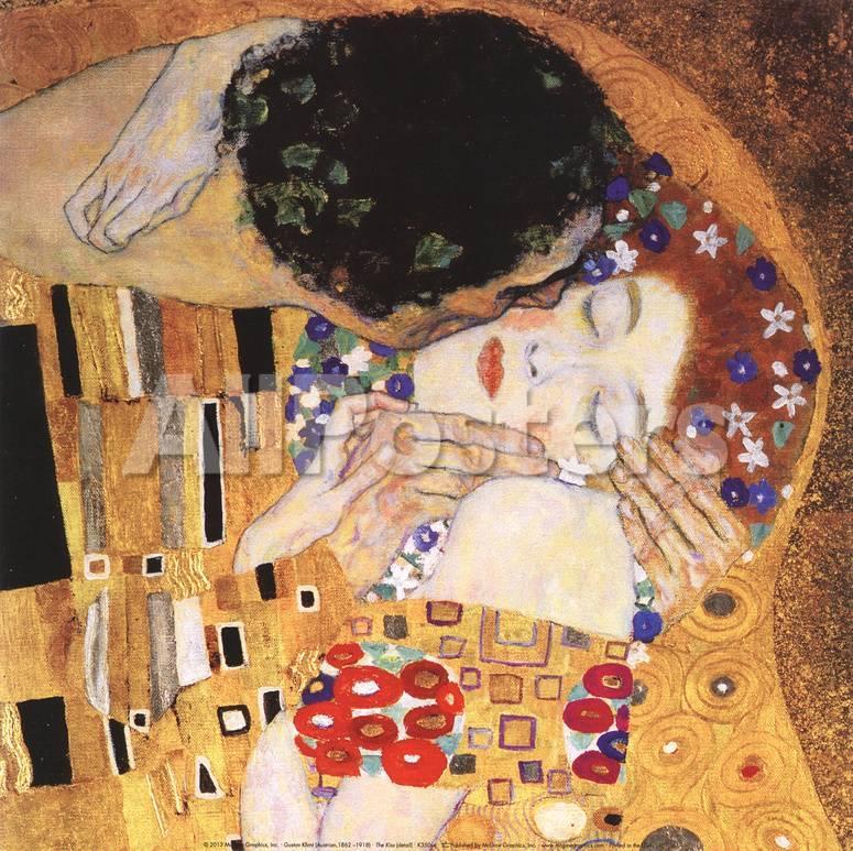 El beso (detalle) Pósters por Gustav Klimt en AllPosters.es