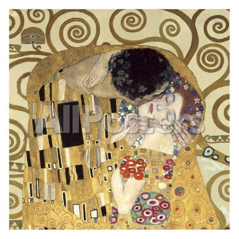 El beso (detalle) Arte por Gustav Klimt en AllPosters.es