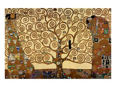 Elämän puu Premium-giclée-vedos