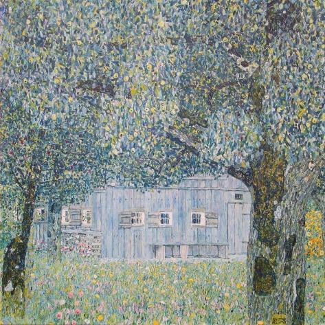 Farm at Oberoesterreich, 1911 Art Print