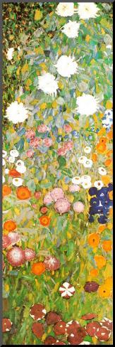 Flower Garden (detail) Mounted Print