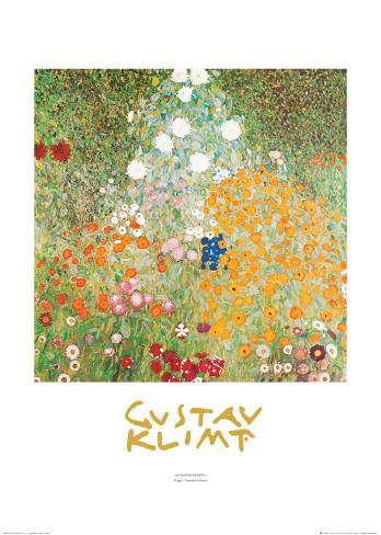 Flowery Garden Art Print