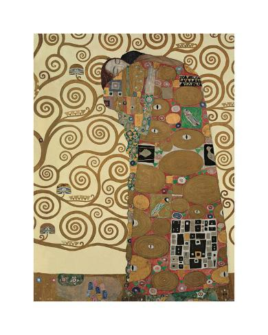 Fulfillment, Stoclet Frieze, c.1909 Giclee Print