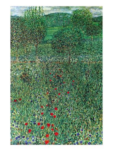 Garden Landscape Art Print