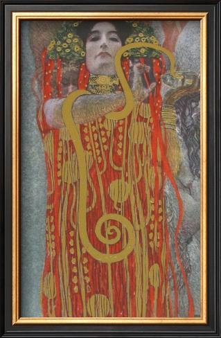 Hygieaia (detail) Framed Art Print