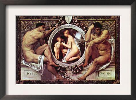 Idyll Framed Art Print