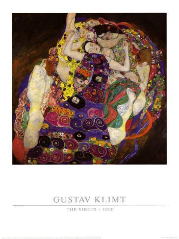 La virgen, 1913 Lámina