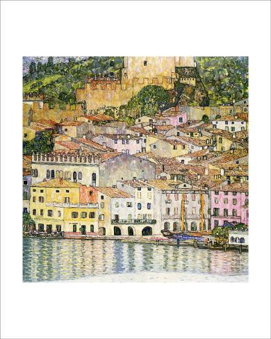 Malcesine on Lake Garda Giclee Print